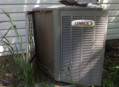 Lennox Air Conditioner ready for Air Conditioner Clean and Check in Sherwood Park