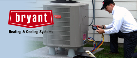 A Bryant Air Conditioning installation by Global Heating Services in Edmonton