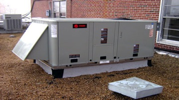 Commercial Heating and Air Conditioning rooft top unit