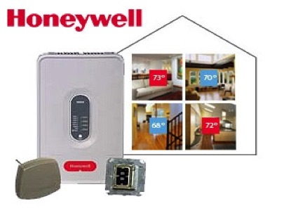 Honeywell Truezone zoning systems offered by Global Heating Services